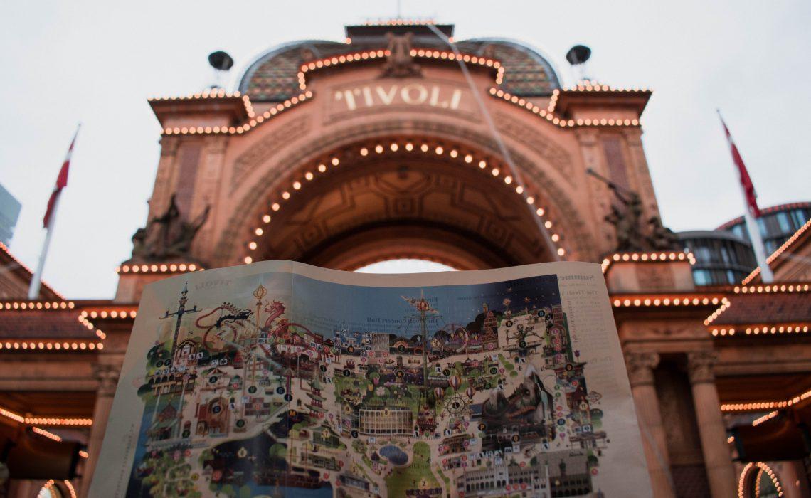 Tivoli Gardens Parque em Copenhage