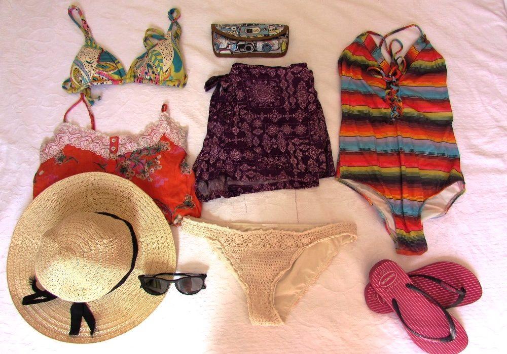 O que levar para viagem de praia e verão - Dicas de mala   O mundo é ... 0d87a64196