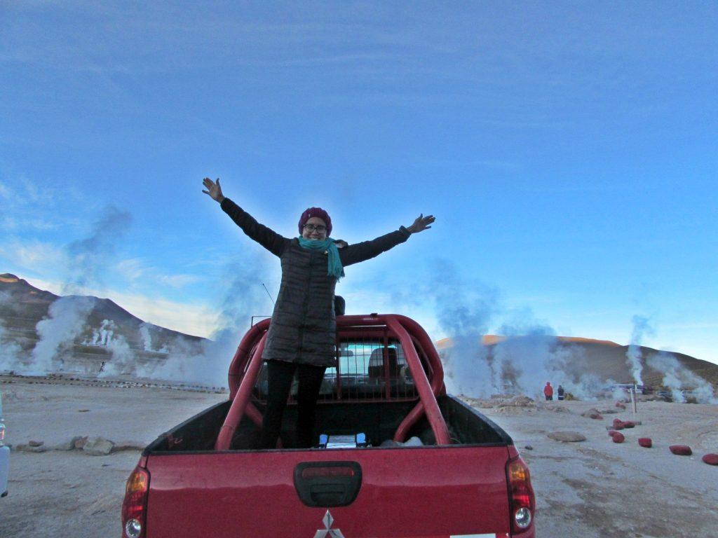 Deserto do Atacama de carro