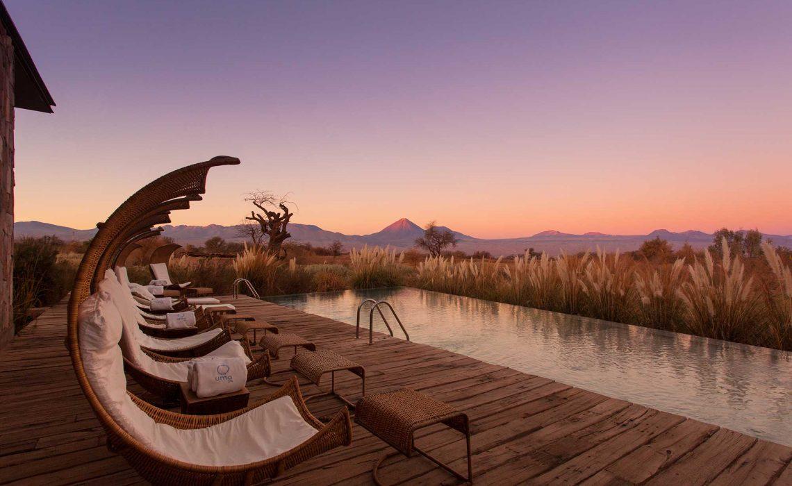 Melhores hotéis no Deserto do Atacama - Opções de luxo a econômico