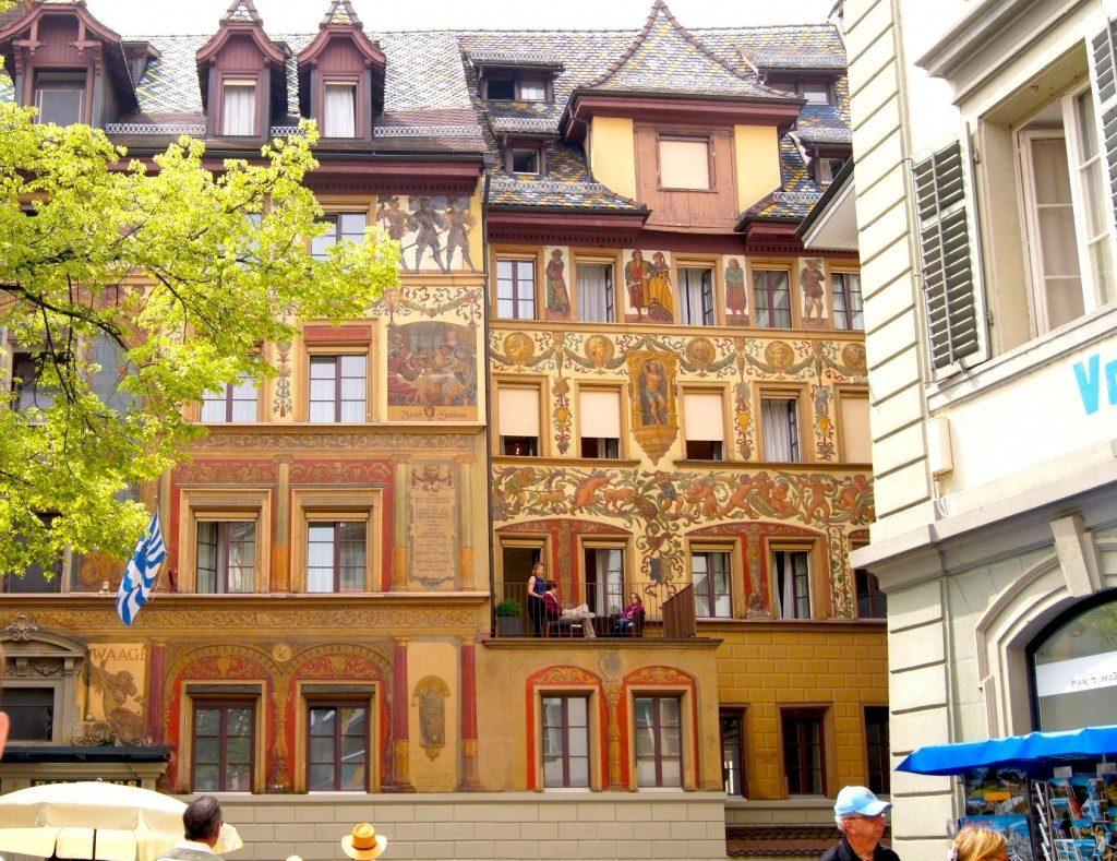 Lucerne-buildings-Switzerland- TRAVEL DRINK D LINE
