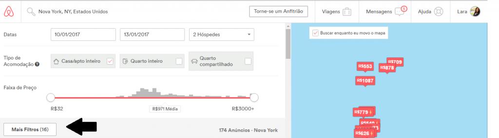 Escolher apartamento airbnb seguro e barato