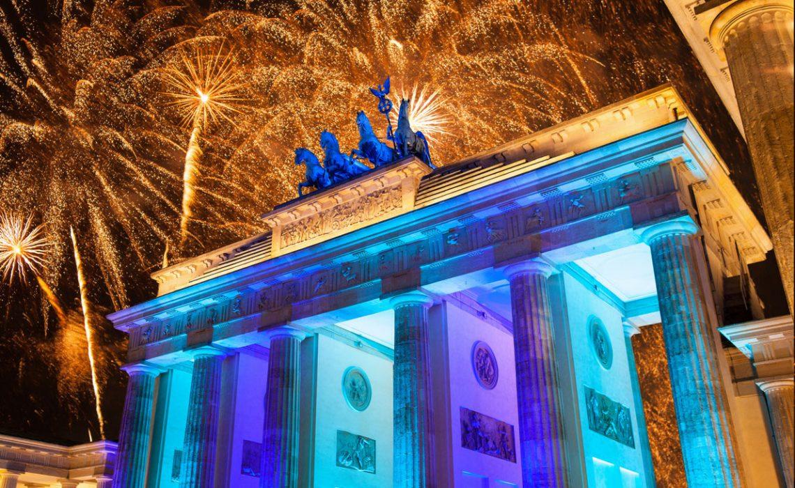 Ano novo na Europa