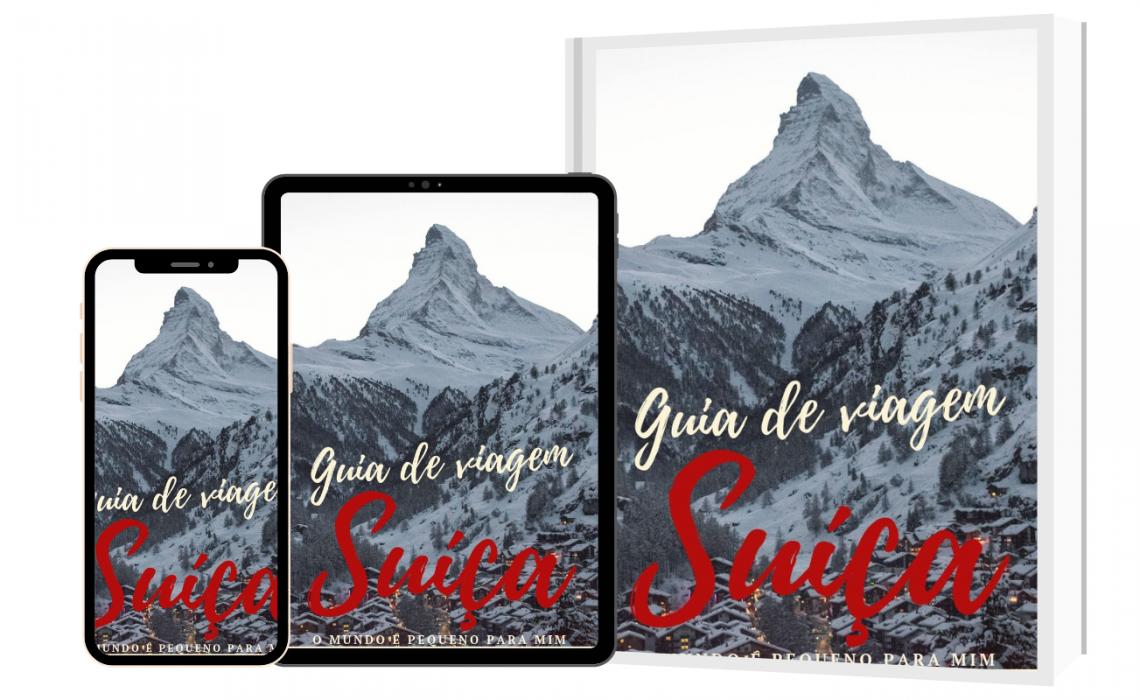 Ebook - Guia de viagem da Suíça