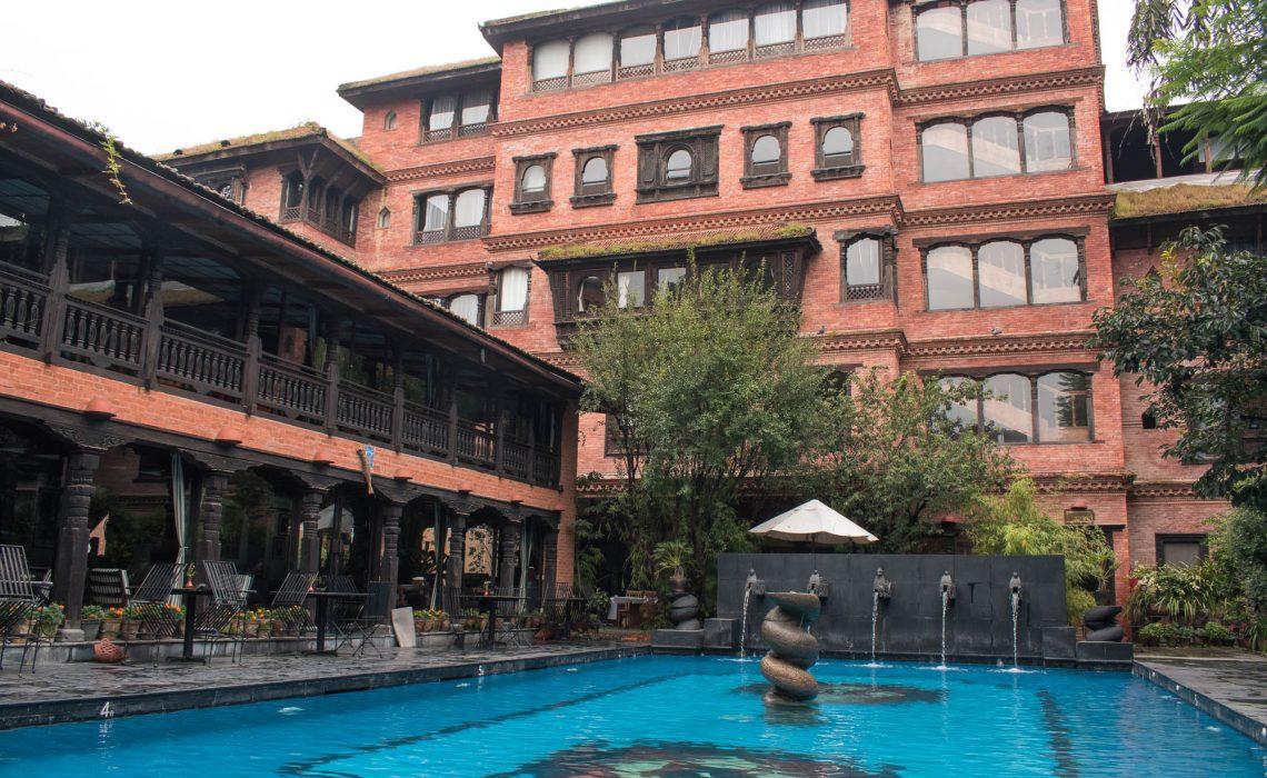 Dwarika Hotel em Kathmandu, Nepal